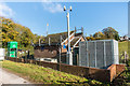 TQ2057 : Pumping station by Ian Capper