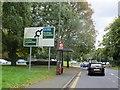 TQ4564 : Farnborough  Hill  B2158  Approaching  A21  roundabout by Martin Dawes