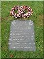TF7928 : Aircrew crash memorial in Houghton churchyard by Adrian S Pye