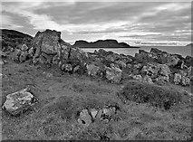 NS0853 : Barr Point - Isle of Bute by Raibeart MacAoidh