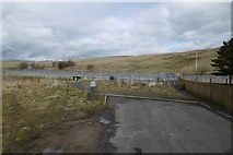 NT4054 : Level crossing site, Heriot by Richard Webb