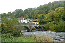 SJ1143 : Pont Carrog by Mary and Angus Hogg