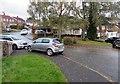 ST3090 : Fallen leaves on a Malpas corner, Newport by Jaggery