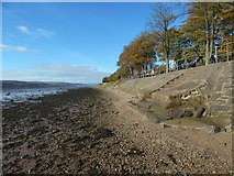 NS3974 : Steps leading up from the beach by Lairich Rig
