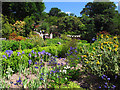 SH8072 : Bodnant Garden: formal gardens by Stephen Craven