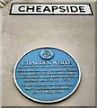 SJ8398 : Blue plaque: Charles White by Gerald England