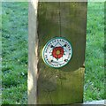 SK2028 : On the Tutbury Heritage Walk by Alan Murray-Rust