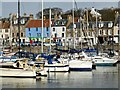 NO5603 : Sailing boats in Anstruther Harbour by Graham Hogg