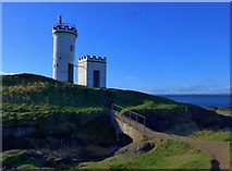 NT4999 : The lighthouse on Elie Ness by Gordon Brown