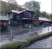 SO4494 : Chalet Pavilion, Carding Mill Valley, Church Stretton by Jaggery
