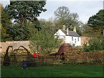 NZ1758 : Walled garden, Gibside by Andrew Curtis