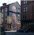 NS5566 : Purdon Street graffiti style mural by Thomas Nugent