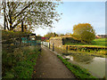 SD7807 : Remains of Former Railway Bridge, Manchester; Bolton and Bury Canal by David Dixon
