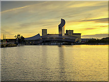 SJ8097 : Sunset over the Ship Canal by David Dixon