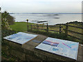 ST5188 : Viewpoint over the Severn Estuary, Black Rock by Robin Drayton