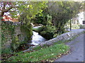 ST5464 : Winford's water by Neil Owen