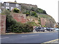 TQ8109 : Hastings Castle from Castle Hill Road by PAUL FARMER