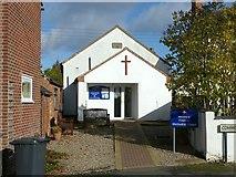 SK3030 : Findern Methodist Chapel by Alan Murray-Rust