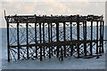 TQ3003 : Disused West Pier, Brighton,  East Sussex by Christine Matthews