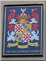 TQ3104 : The Sir Charles Napier sign by Oast House Archive