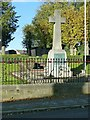 SK3034 : Mickleover War Memorial by Alan Murray-Rust