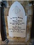 TA0339 : Beverley Minster: memorial (5) by Basher Eyre