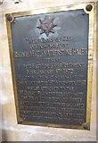TA0339 : Beverley Minster: memorial (17) by Basher Eyre