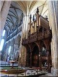 TA0339 : Beverley Minster: organ by Basher Eyre