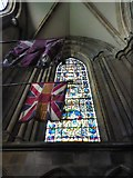 TA0339 : Beverley Minster: stained glass window (VI) by Basher Eyre