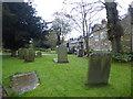 SK2176 : St Lawrence, Churchyard, Eyam by Marathon