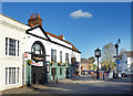 TQ0277 : Ye Olde George, Colnbrook by Des Blenkinsopp