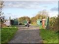 SJ3794 : Bridge over Philbeach Road by Stephen Craven