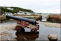 SW6225 : Porthleven Harbour, Cornwall by Derek Voller