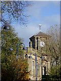 SO9596 : Bilston Town Hall (detail), Wolverhampton by Roger  Kidd