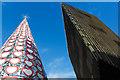 SJ3490 : Liverpool One Christmas tree installation, Paradise Street : Week 45