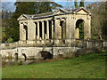 SP6837 : Stowe Landscape Gardens - Palladian Bridge by Chris Allen