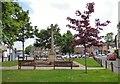 SJ9784 : Disley War Memorial by Gerald England