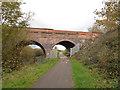 SJ3697 : Bull Lane bridge by Stephen Craven