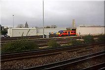 TQ2572 : Train depot at Wimbledon by Mike Pennington