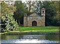 SP6736 : Stowe Landscape Gardens - Hermitage by Chris Allen