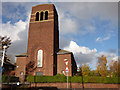 SJ3497 : St Robert Bellarmine Church, Litherland by Stephen Craven