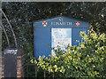 TQ4193 : St Elisabeth, Buckhurst Hill - Noticeboard by John Salmon