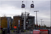 TQ3979 : The Greenwich end of the Emirates Air Line by Mike Pennington