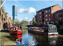 SJ8297 : Bridgewater Canal, Manchester by Matt Harrop