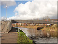 SJ3496 : New canal footbridge at Orrell by Stephen Craven