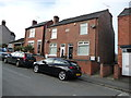SK4156 : A pair of houses built in 1924, Alfreton by Christine Johnstone