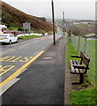ST0190 : Roadside bench, Edmondstown by Jaggery