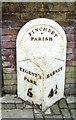 TQ2590 : Milepost, Finchley by MilestoneSociety