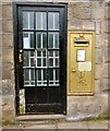 SJ9784 : Gold Postbox (SK12 371) by Gerald England