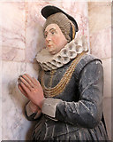 TL3852 : Harlton: Fryer Monument - Mary Fryer by John Sutton